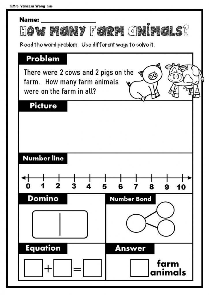 Kindergarten math addition