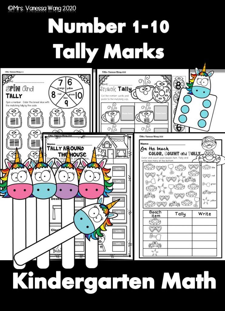 kindergarten math number 1-10
